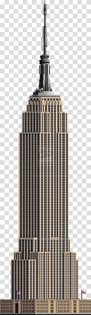 gedung tinggi berwarna coklat dan hitam, Gedung Empire State Chrysler Building Citigroup Center, Building PNG clipart