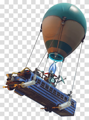 fortnite battle royale bus playerunknown's battlegrounds battle royale game, penjarahan, balon udara yang membawa bus di udara PNG clipart
