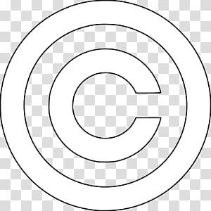 logo C hitam dan putih, simbol Hak Cipta Tamil Nadu 600 040, hak cipta png