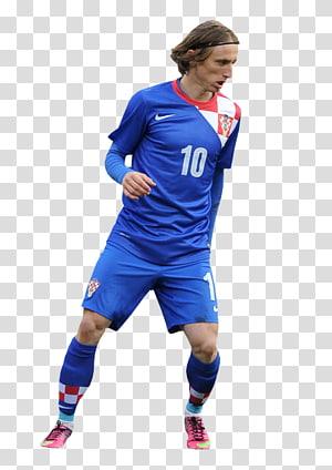Pria yang mengenakan kaos sepak bola, pemain kaos tim sepak bola nasional luka modrić croatia, luka modric png