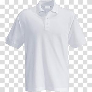 ilustrasi kaos putih, kaos Polo Shirt Top Pakaian Putih, kaos polo png