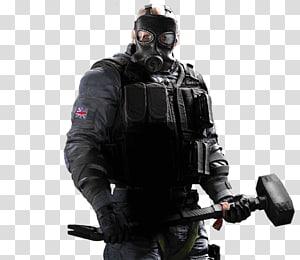 memegang palu godam, Tom Clancys Rainbow Six Siege Overwatch Video game Ubisoft, Tom Clancys Rainbow Six png
