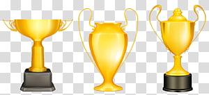 ilustrasi piala, Piala, Piala Perunggu Perak Emas png