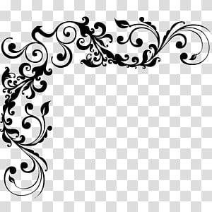 desain ornamen bunga, arabesco PNG clipart