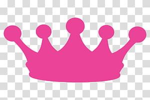 mahkota merah muda, mahkota tiara konten gratis, mahkota bayi s PNG clipart