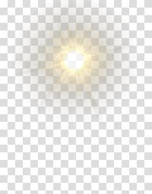 Pola Putih Terang, Lensa Flare, ilustrasi sinar matahari png