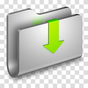 pengatur folder abu-abu, ikon sudut merek komputer, Folder Logam png