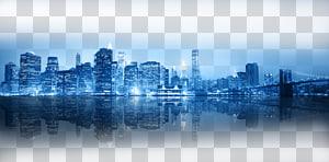 New York City Skyline, lampu malam Hong Kong yang cerah, skyline kota saat malam hari PNG clipart