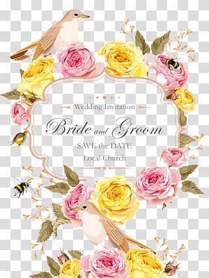 Undangan pernikahan, template pengantin, Undangan pernikahan Kartu ucapan pernikahan Simpan tanggal, Pola Kartu Ucapan Pernikahan png