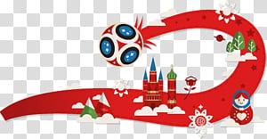 Kualifikasi Piala Dunia FIFA 2018 Rusia Adidas Telstar 18 Football, RUSIA 2018, kastil grafis merah dan hijau png