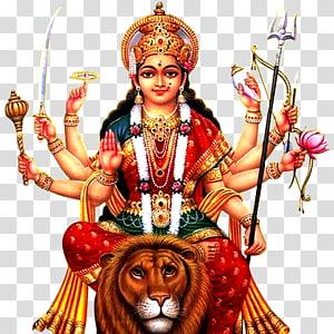 Ilustrasi Dewa Hindu, Krishna Shiva Ganesha Durga Puja, durga png