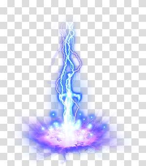 ilustrasi petir biru, Transparansi dan transparansi cahaya petir, Petir efek cahaya png