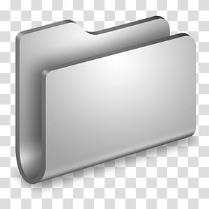 folder abu-abu, persegi panjang perangkat keras, Folder Logam Umum png