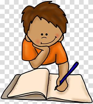 anak laki-laki menulis pada ilustrasi buku, Menulis Buku, Menulis Animasi s PNG clipart