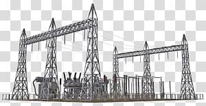 pembangkit listrik, gardu listrik Listrik Teknik arsitektur Struktur arsitektur Industri tenaga listrik, tegangan tinggi png