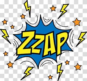 aplikasi stiker zzap, balon Pidato Komik Onomatopoeia Euclidean, dialog awan ledakan Komik png