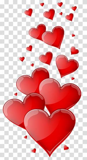Cinta Hati, Hati Merah, ilustrasi hati merah png