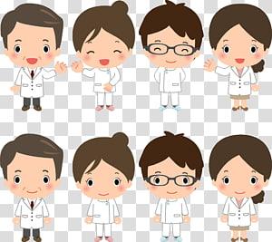 animasi perawat, Komik Perawat Kartun Komik, Dokter dan perawat Komik Kartun s png
