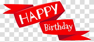 Kue ulang tahun Wish, Red Selamat Ulang Tahun Spanduk, ilustrasi selamat ulang tahun png