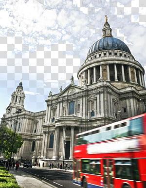 Katedral Berlin ,, Katedral St Paul, Sungai Thames Big Ben Millennium Bridge, London Prague, London, St. Paul \ s Cathedral png