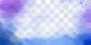 Lukisan cat air Sinar matahari, Latar belakang cat air tinta, teal, biru, dan lukisan abstrak ungu png
