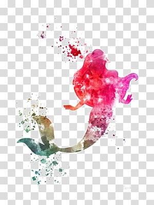 Putri Ariel dari Little Mermaid, Ariel Disney Princess The Walt Disney Company Artis Seni Grafis, Mermaid png
