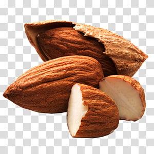 brown almond, Juice Almond milk Nut Buah kering, almond png