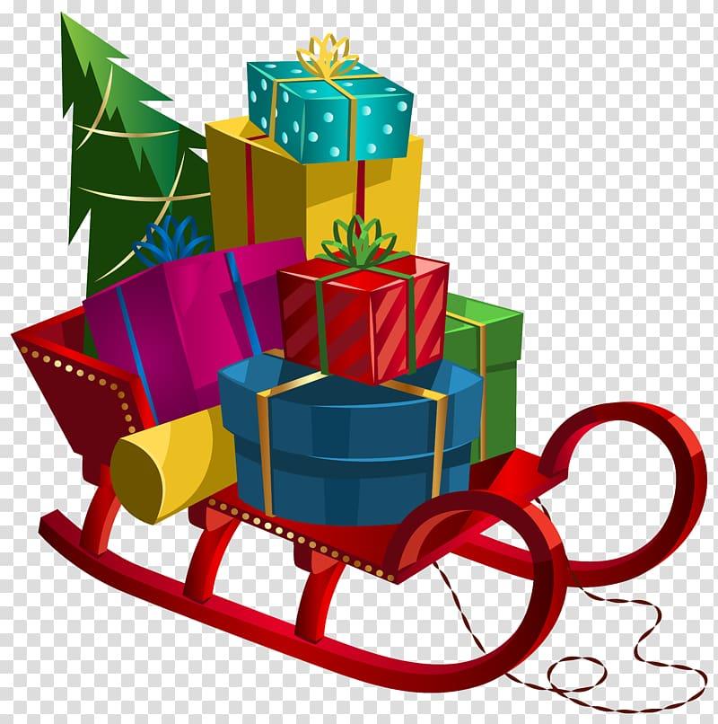 korsel penuh dengan ilustrasi hadiah, Hadiah, Giring Natal dengan Hadiah png