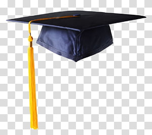 topi akademik hitam dan kuning, topi akademik Square Upacara Wisuda Hat Doctorate, Bachelor cap png