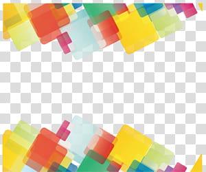 Geometry Line Euclidean Bentuk geometris, Geometri abstrak, seni digital kuning, hijau, dan merah PNG clipart