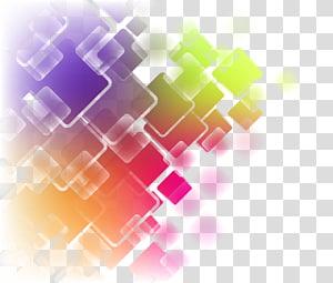 ilustrasi abstrak beraneka warna], Seni abstrak, Kurva geometris abstrak berwarna-warni PNG clipart