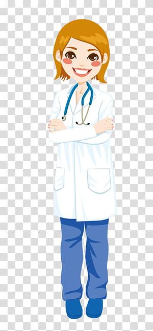 dokter wanita, Kartun Dokter, Dokter png