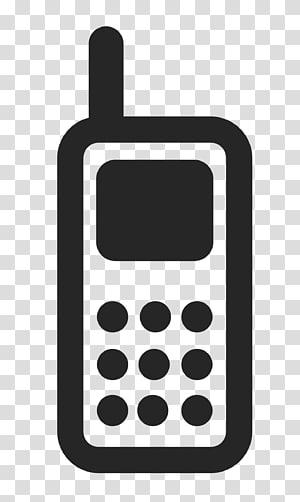 Simbol Logo Ikon Komputer Telepon, Logo Ponsel, grafik telepon nirkabel berwarna abu-abu png