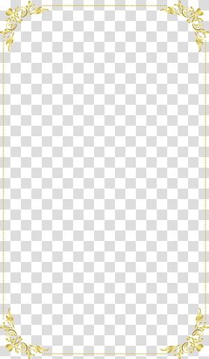 ilustrasi bingkai bunga, Emas, kotak teks Emas png