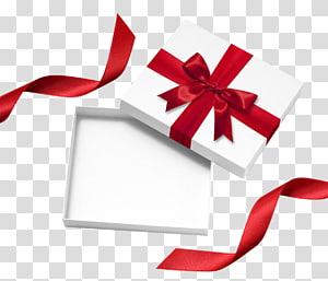 kotak hadiah putih dan merah dengan busur, Kotak pembungkus kado. xchng, Kotak hadiah putih png