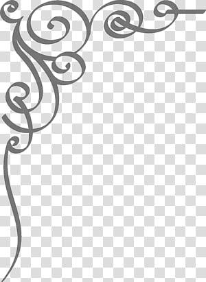 Undangan pernikahan, Batas Undangan Pernikahan, latar belakang abu-abu spiral png
