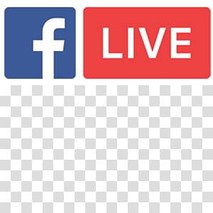 Logo Facebook, Media streaming Siaran langsung Livestream Siaran Facebook, dengarkan png