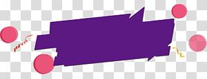 ilustrasi ungu dan merah muda, kotak teks spanduk web, spanduk kotak teks spanduk png