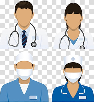 kolase staf medis, Pasien Kedokteran Perawat, Perawat png