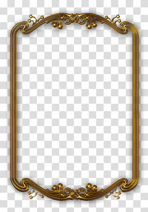 bingkai Garis bingkai, bingkai emas klasik, bingkai persegi panjang berwarna emas png