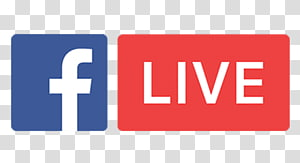 Logo Facebook Live, YouTube Facebook Live Media sosial Penyiaran, tayang langsung png