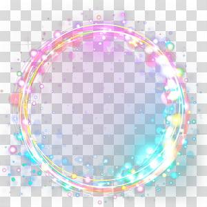 ilustrasi spiral warna-warni, desain Grafis Lingkaran, kotak judul keren warna indah png