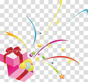 pink giftbox vactor, Quran Hadiah Natal Gratis, Hadiah png