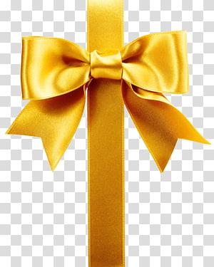 ilustrasi pita kuning, Pita pembungkus Hadiah Pita, pola pita hadiah Emas png