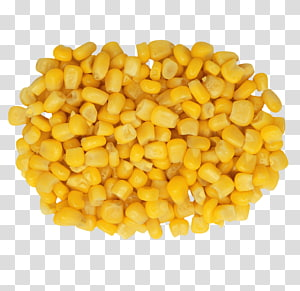 tumpukan jagung, Jagung rebus Popcorn Jagung Kernel jagung Jagung manis, Sebuah biji jagung emas png