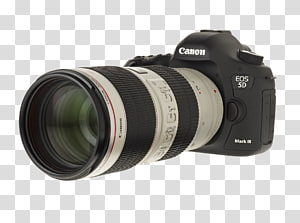 hitam Canon EOS 5D, Canon EOS 5D Mark III Kamera Digital SLR, dslr png