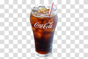 Gelas gelas Coca-Cola diisi dengan coke, World of Coca-Cola Papua Nugini Minuman ringan, Minuman Coca Cola PNG clipart