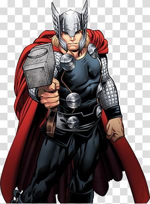 Ilustrasi Marvel Thor, Thor Hulk The Avengers Marvel Comics Marvel Cinematic Universe, Thor png