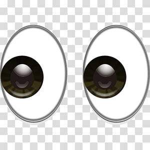 ilustrasi mata kartun, Emoji Eye Smiley Heart, mata png