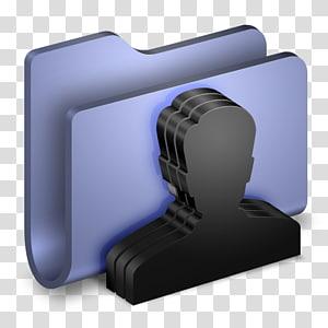 pemegang serbet meja hitam dan abu-abu, perangkat komunikasi perangkat output multimedia, Folder Biru Grup png
